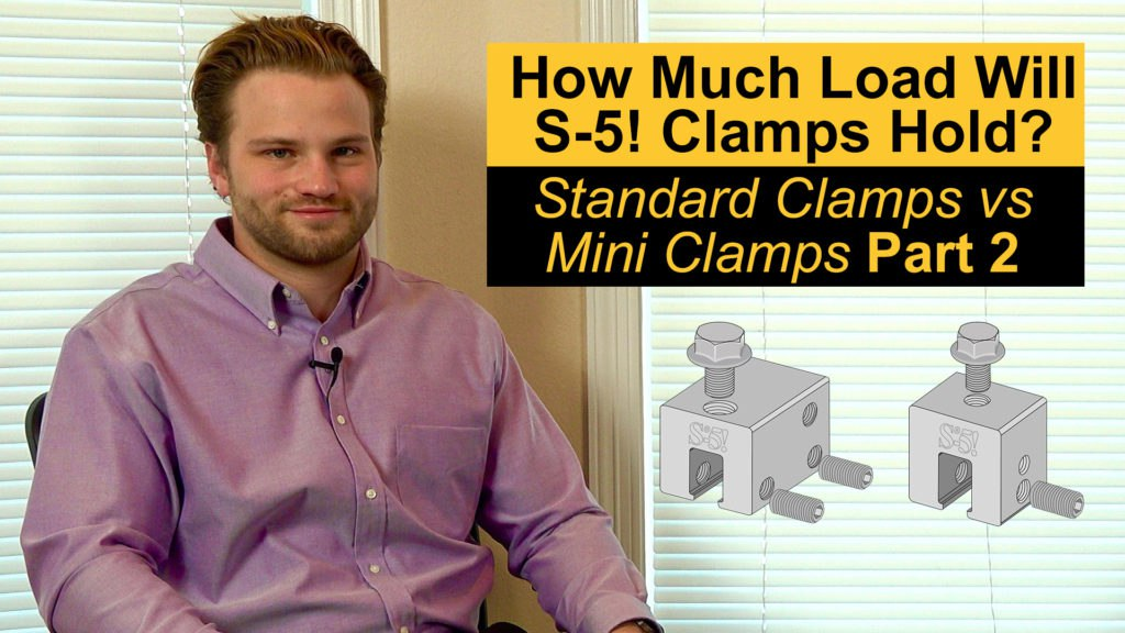 testing s5 metal roof clamps