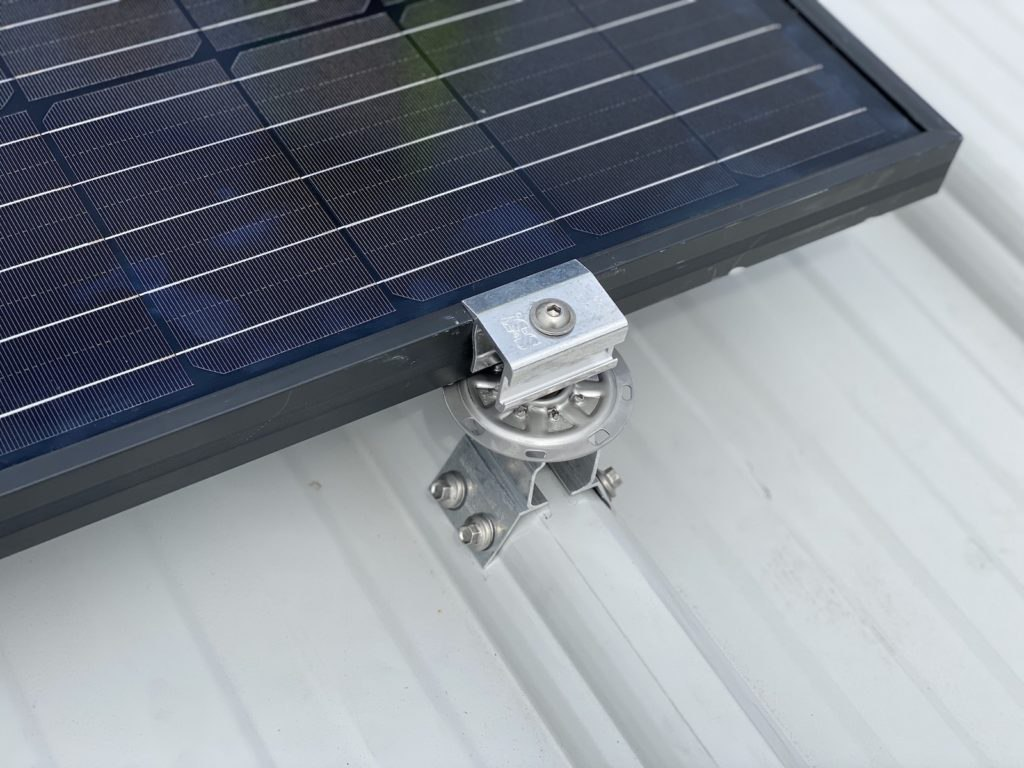 RibBracket metal roof bracket with S-5! PVKIT rail less solar mounting