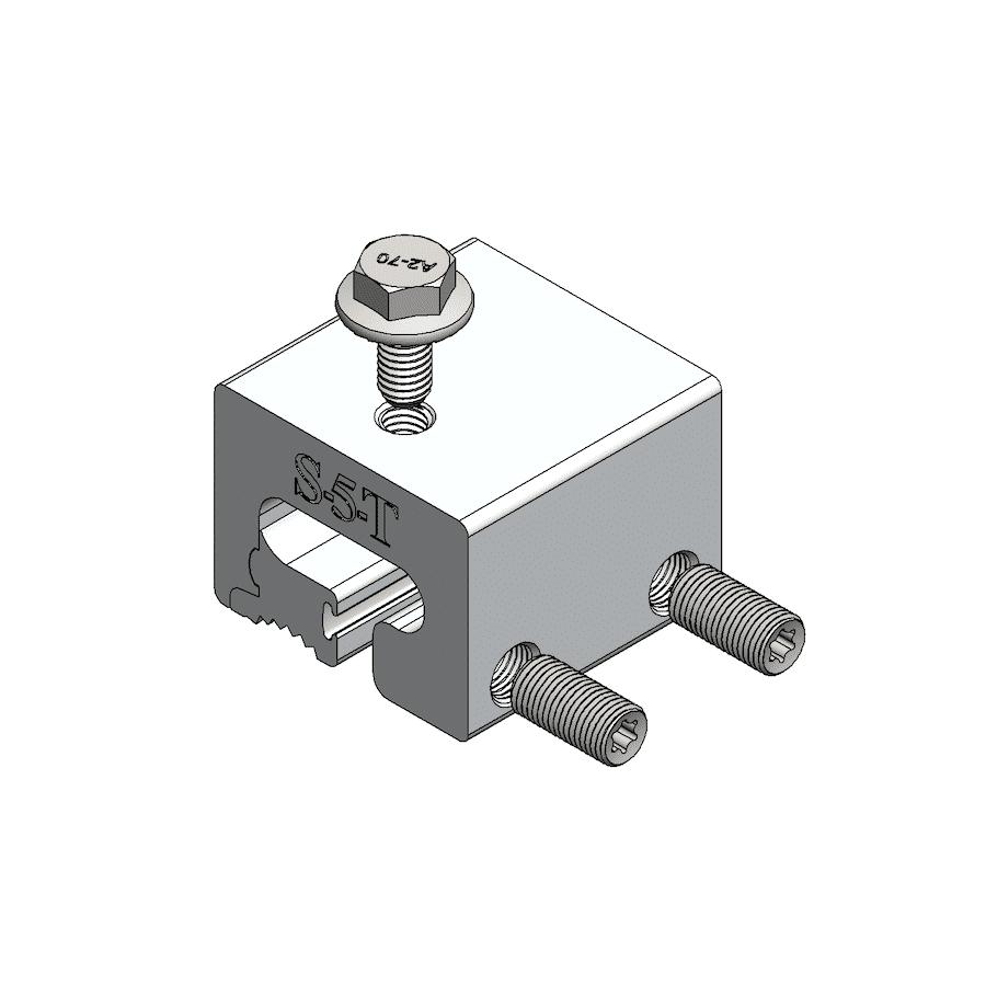 s-5-T metal roof clamp standard