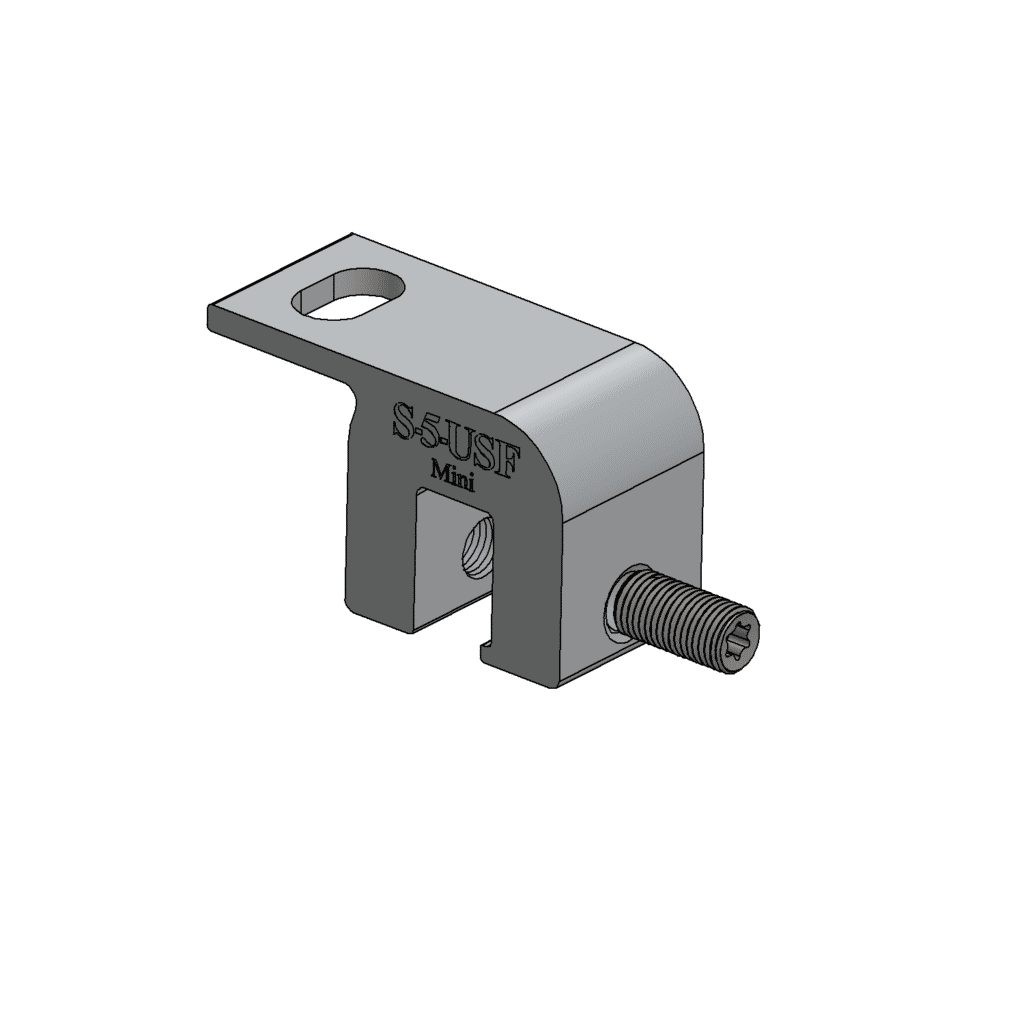 Mini S-5-USF metal roofing clamp