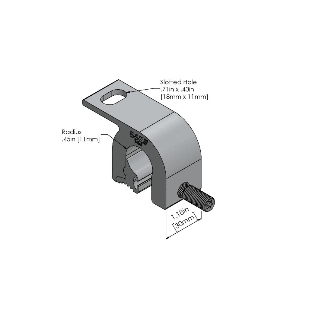 ZF metal roof clamp mini