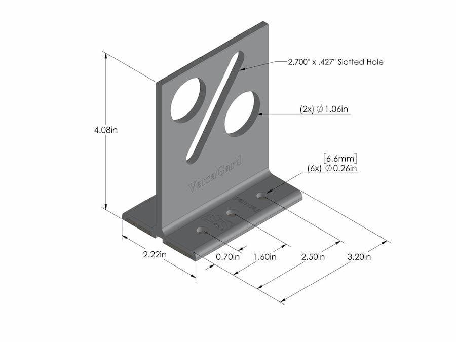 versagard metal roof bracket solar and snow