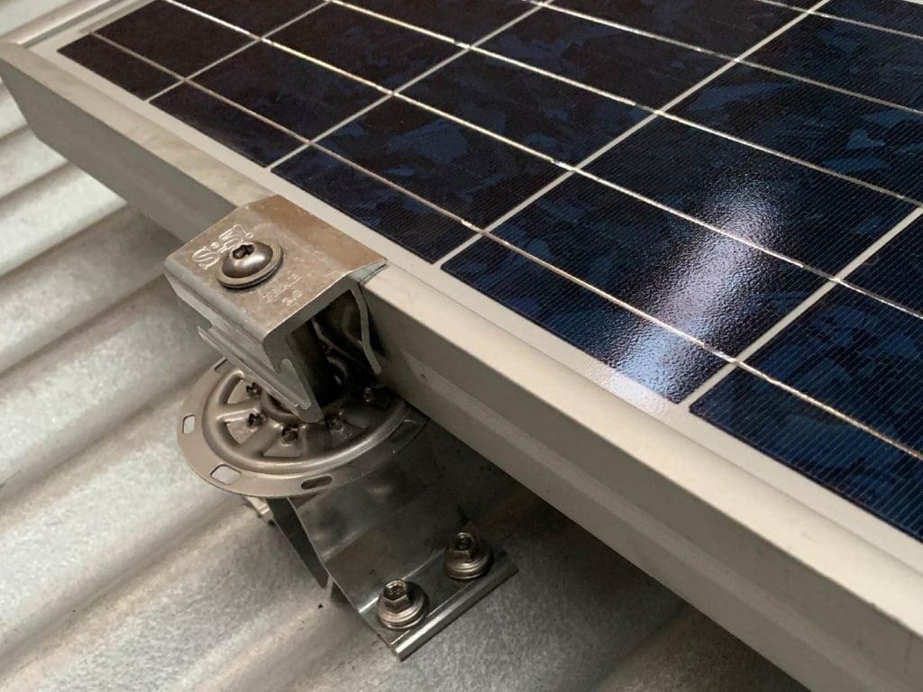 Corrubracket metal roof bracket solar mounting rail-less