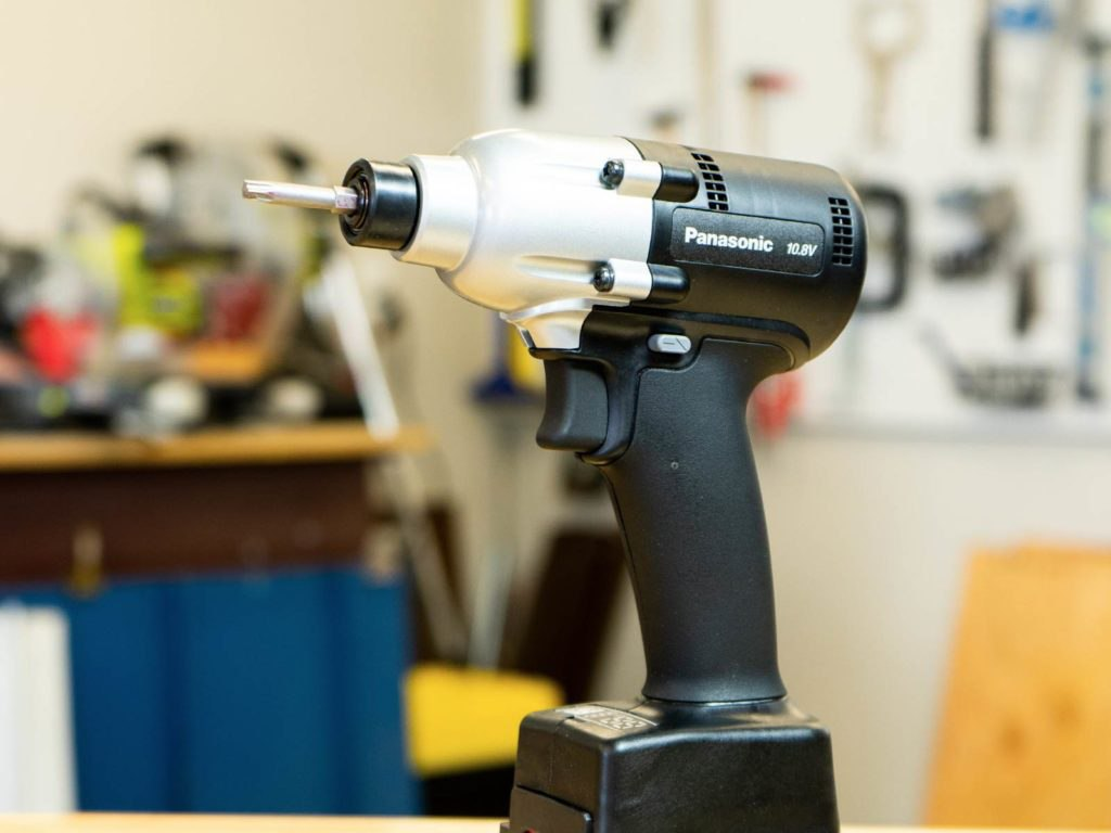 panasonic mechanical pulse torque metal roofing tool