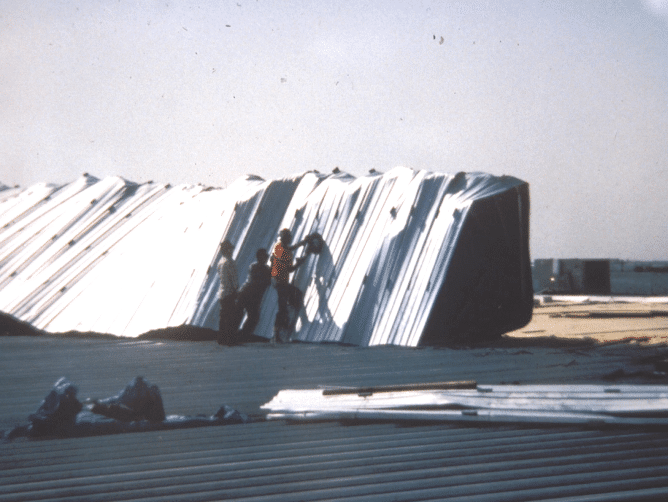 Poor-roof-clip-design-metal-roof-blow-off-1
