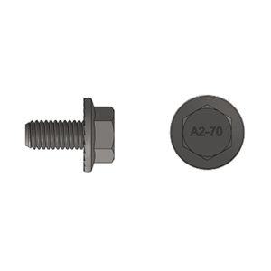 M8 16mm bolt
