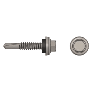 "1.5"" metal-to-metal screw"