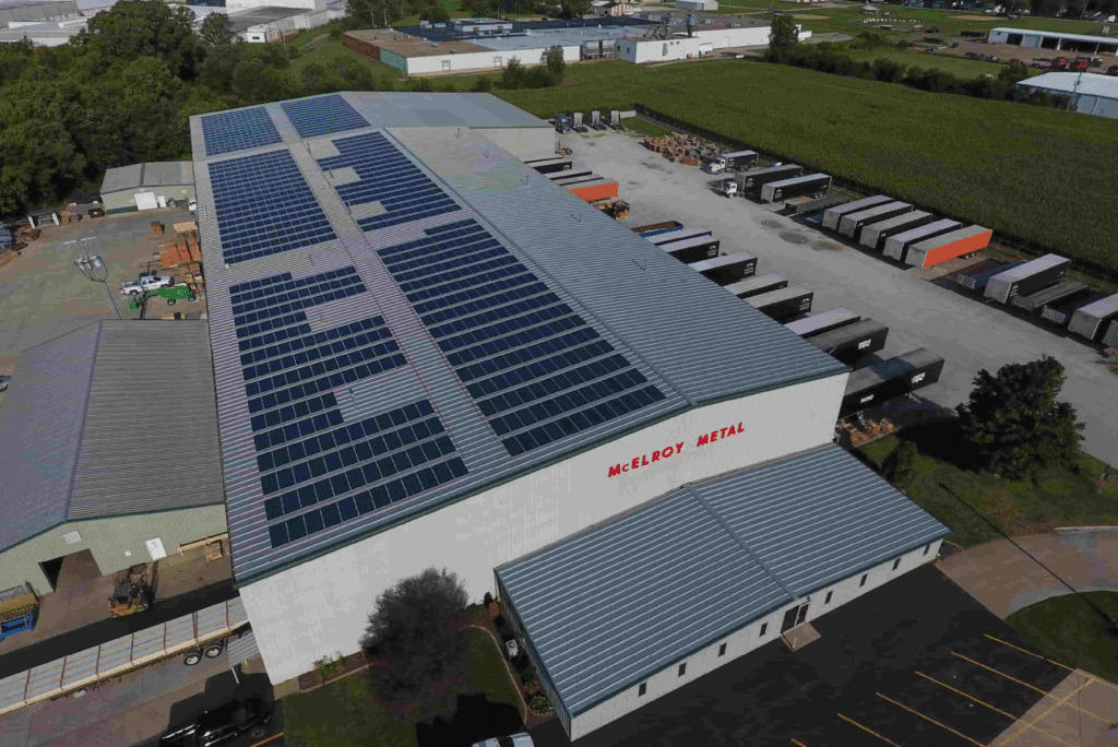 McElroy-Metal-Manufacturing-Plant-solar